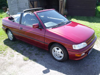 882 1993 Ford Escort XR3i Convertible Icon