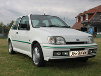 893 1991 Ford Fiesta MK3 RS Turbo Icon