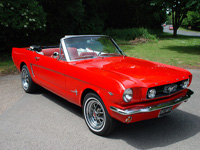 901 1965 Ford Mustang V8 Convertible Icon