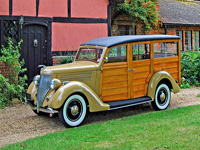 909 1936 Ford Woodie Station Wagon Icon