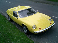943 1971 Lotus Europa Twin Cam Icon