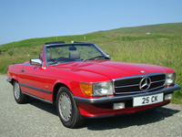 947 1986 Mercedes-Benz R107 SL300 Icon