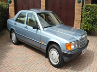 952 1987 Mercedes-Benz W201 190 Icon
