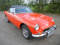 964 1974 MGB Roadster Icon