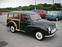 972 1968 Morris Minor Traveller Icon