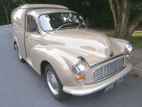 973 1972 Morris Minor Van Icon