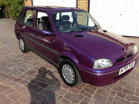984 1996 Rover 100 Knightsbridge SE Purple Icon
