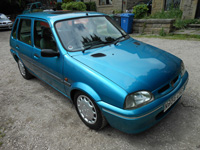 985 1996 Rover 100 Knightsbridge SE Blue Icon