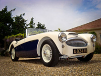 1053 1963 Austin Healey MK2 3000 Icon