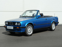1059 1992 BMW E30 318i Design Edition Convertible Icon