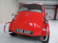 1066 1960 BMW Isetta Bubble Car Icon