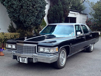 1069 1976 Cadillac Fleetwood Brougham Sedan 8.2 V8 Icon