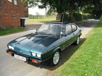 1091 1987 Ford Capri MK3 280 Brooklands 2.8i Icon