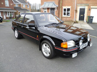 1097 1986 Ford Escort MK4 XR3i Icon