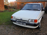 1102 1984 Ford Fiesta MK2 Popular Plus Icon
