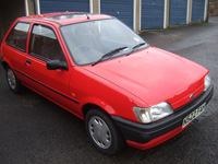 1105 1995 Ford Fiesta MK3 1.1 Quartz Icon