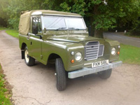 1133 1972 Land Rover Series 3 Icon
