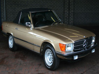 1139 1979 Mercedes-Benz R107 450 SL Icon