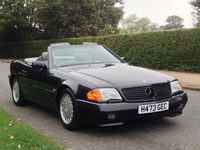 1140 1990 Mercedes-Benz R129 500SL Roadster Icon