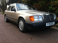 1142 1989 Mercedes-Benz W124 230E Icon