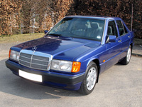 1146 1993 Mercedes-Benz W201 190LE Icon