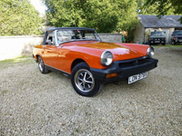 1151 1981 MG Midget 1500 Icon