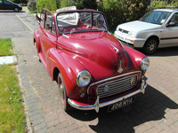 1158 1961 Morris Minor 1000 Convertible Icon
