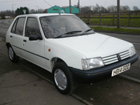 1171 1991 Peugeot 205 GRD Icon