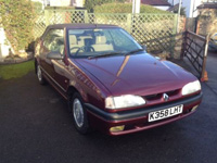 1180 1992 Renault 19 Karmann Convertible Icon