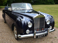 1182 1959 Rolls Royce Silver Cloud 1 H.J. Mulliner Convertible Icon