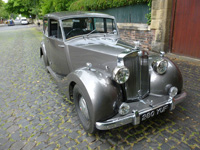 1206 1954 Triumph Renown Razor Edge Icon