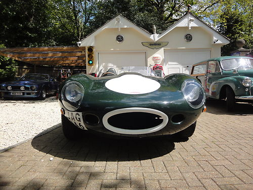 1968 Jaguar D-Type Front