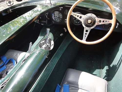 1968 Jaguar D-Type Interior