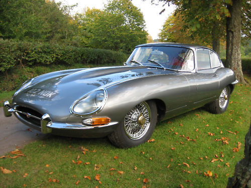 1964 jaguar e type 1