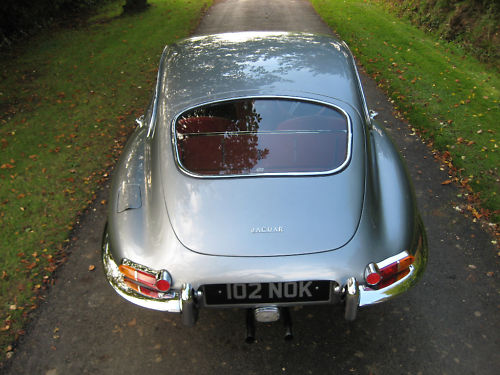 1964 jaguar e type back