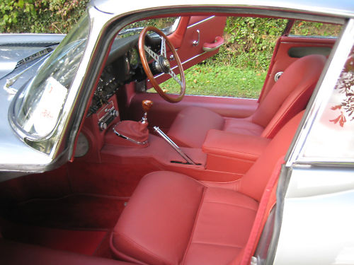 1964 jaguar e type interior 1