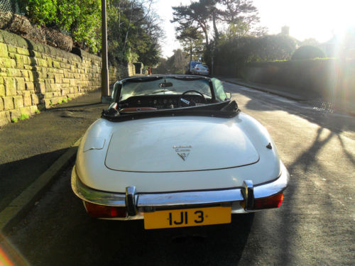 1973 jaguar 5.3 v12 roadster back