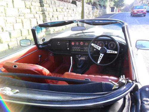 1973 jaguar 5.3 v12 roadster interior 2