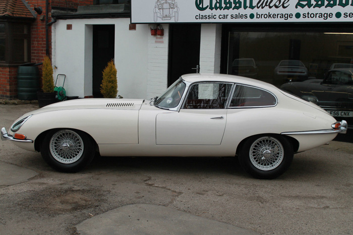 1963 Jaguar E-Type S1 FHC Left Side