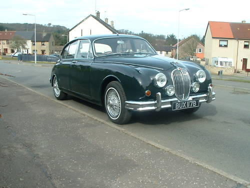 jaguar mk2 2.4 manual overdrive 1