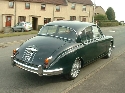 jaguar mk2 2.4 manual overdrive 3