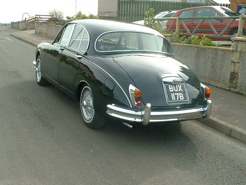 jaguar mk2 2.4 manual overdrive 4