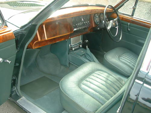 jaguar mk2 2.4 manual overdrive interior 1