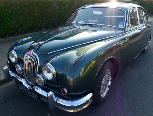 1961 jaguar mk ii 3.8 litre manual 2