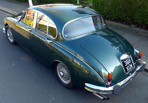 1961 jaguar mk ii 3.8 litre manual 3