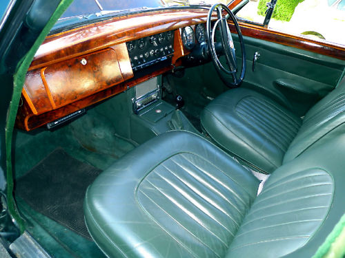 1961 jaguar mk ii 3.8 litre manual interior 1