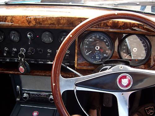 1961 Jaguar MK2 3.4 Dashboard Gauges