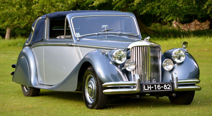1950 jaguar mark v 3.5 litre 1