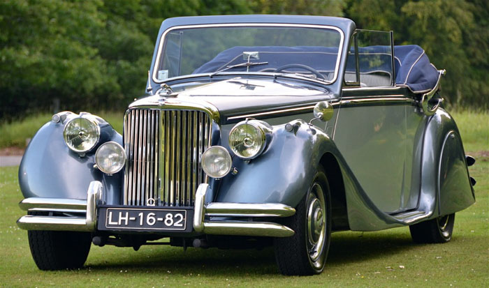 1950 jaguar mark v 3.5 litre 2