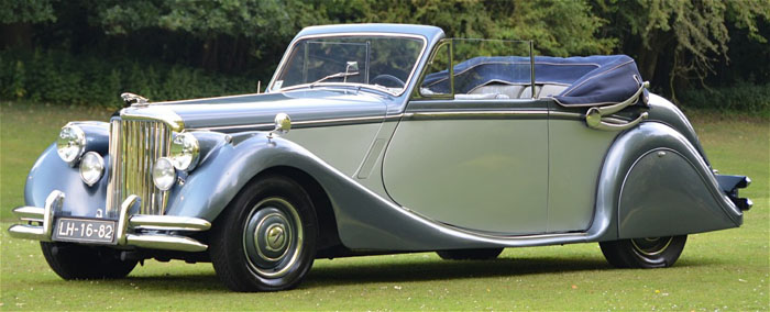 1950 jaguar mark v 3.5 litre 3